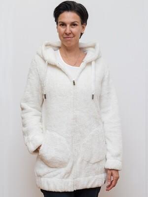 Switcher Hairy women hooded sweater Mituq