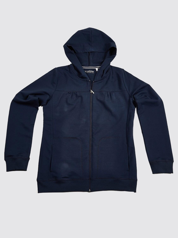 Switcher Hooded Sweatshirt with zip women Almia