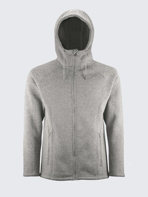 Switcher hooded sweater jacket Orzival with fur