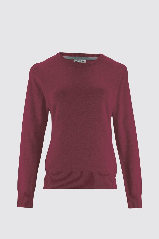 Switcher round-neck women knitted sweater Liv