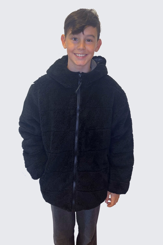 Warm kids switcher bi bear jacket