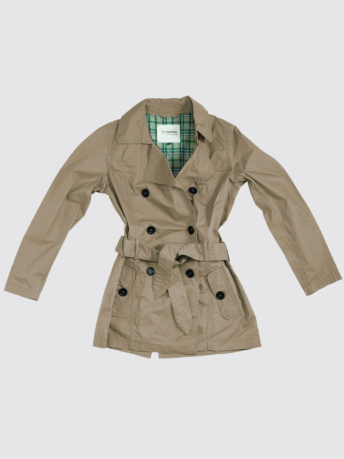 Switcher women casual trench coat