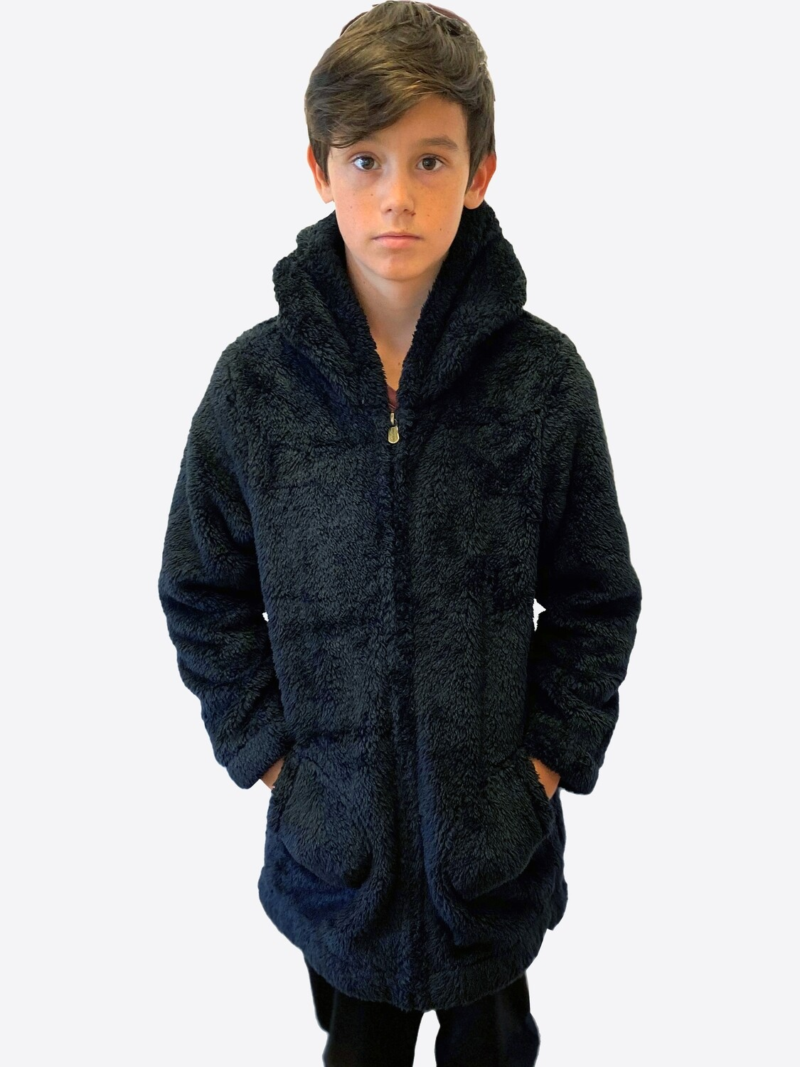 Switcher Hairy kids hooded sweater Mituq