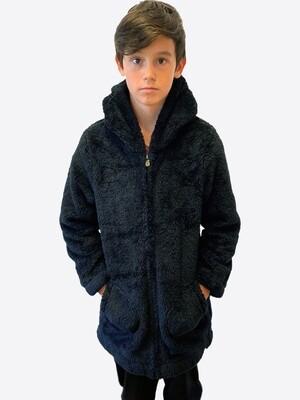 Switcher Hairy kids hooded sweater Mituq