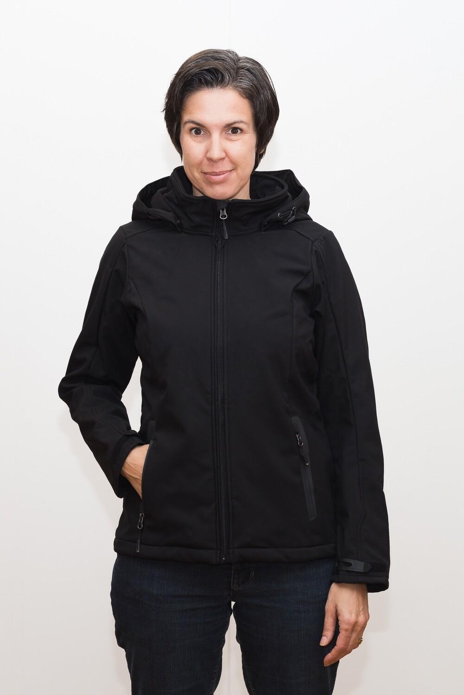 Switcher women hooded softshell jacket Ebenalp