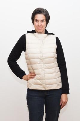 Ultra light down Switcher women vest, stand-up collar Olga