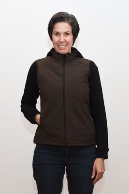 Switcher women's softshell gilet Ovronnaz