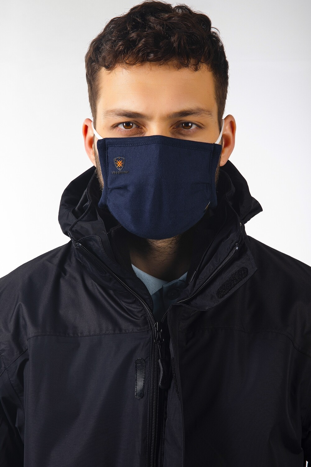 Viroarmour Switcher 3-layer washable mask Pleated powered by HeiQ Viroblock