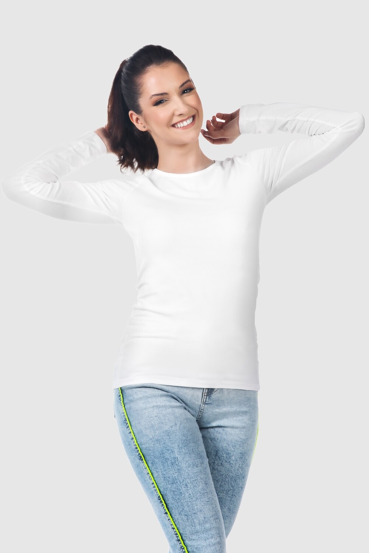 Women's long sleeve t-shirt, jersey stretch Liliane
