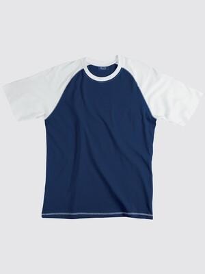 T-shirt Whale Bicolor