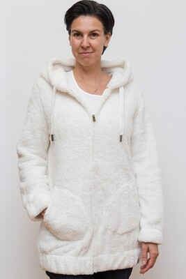 Switcher Hairy women hooded sweater Mituq