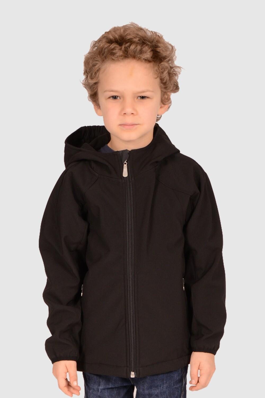 Switcher kid's hooded softshell jacket Lenk