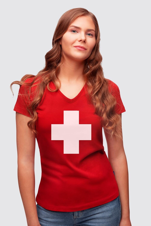 T-Shirt Helvetica Lady