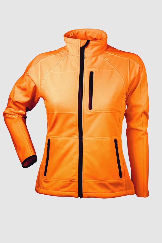 Switcher women hooded softshell jacket Stockhorn