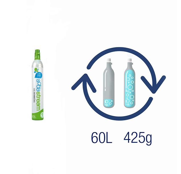 Пълнене на бутилка СО2 425 гр. (SS 0001)