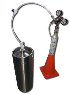 Инсталация за газиране на вода