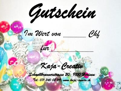 Gutschein Kaja-Creativ