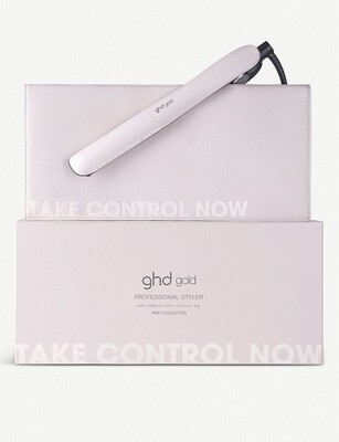 Ghd Gold Styler In Pink