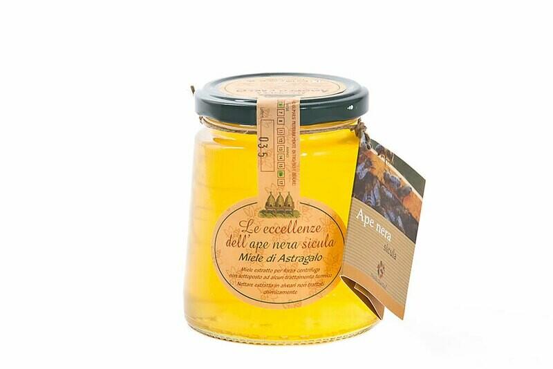Miele di ape nera - Astragolo 400 gr