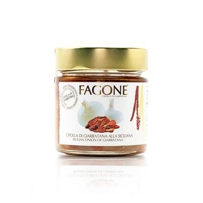 Filetti di Cipolla di Giarratana alla siciliana 190 gr