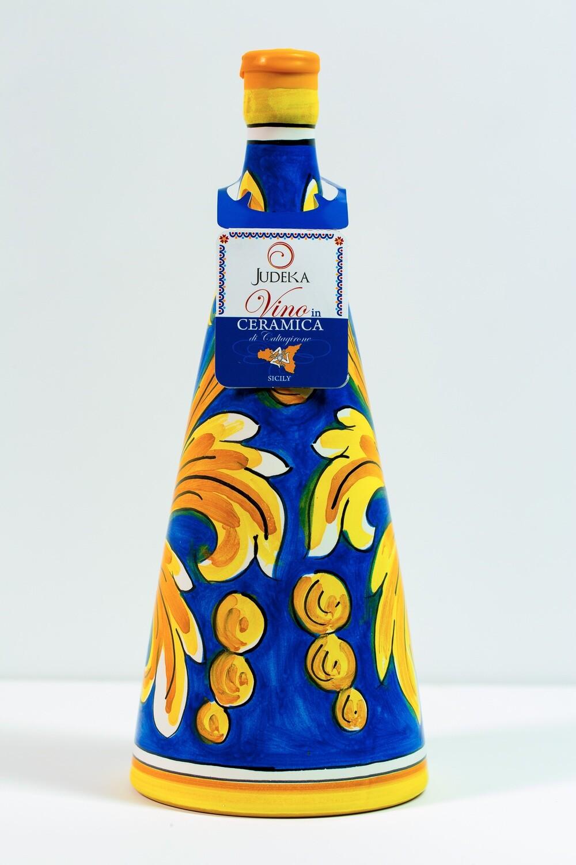 Nero d'avola in ceramica - Decoro Orizzonte cl 75