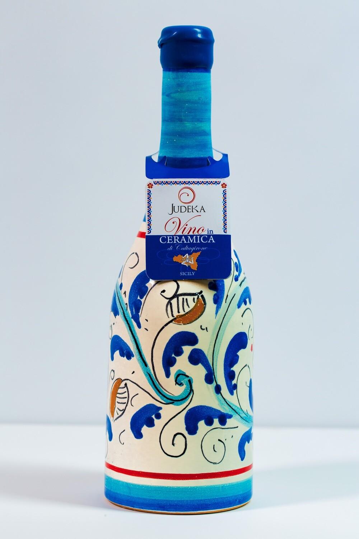 Nero d'avola in ceramica - Decoro 600 cl 75