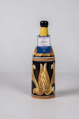 Nero d'avola in ceramica - Decoro italica cl 75