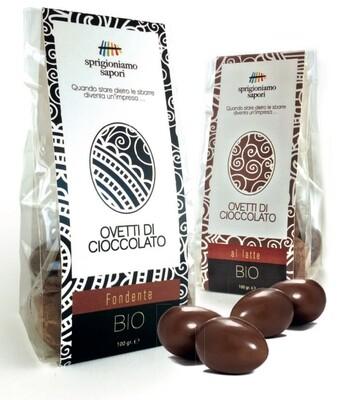 Ovetti di cioccolato Bio 100 gr