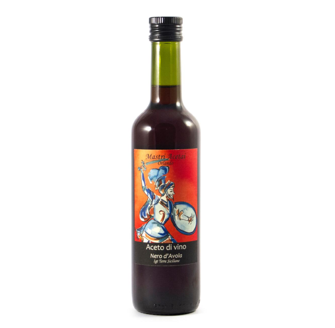 Aceto nero d'avola 0,50 cl