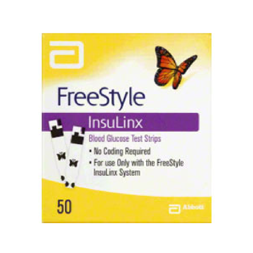 FreeStyle InsuLinx Test Strips (50 count)