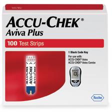 Accu-Chek Aviva PLUS Test Strips (100 count)