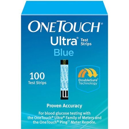 One Touch Ultra Blue Test Strips (100 count)