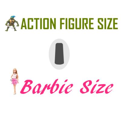 Toy Transmitter - Looks Like Dexcom - Barbie/Action Figure Size