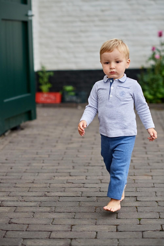 Cyrille long W grijs + jeans