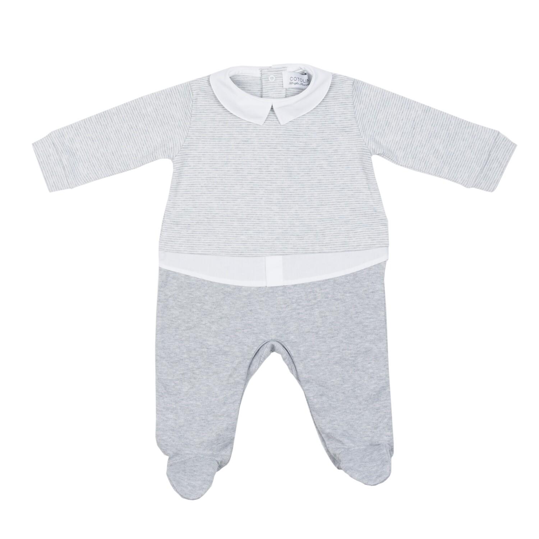 Gaspard chemise gris chiné
