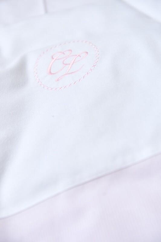 Dekbedovertrek flanel Megève roze streepje