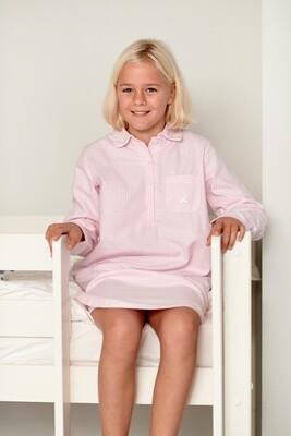 Chemise de nuit vichy rose