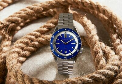 Borealis Olisipo Royal Blue BC1 Date Miyota 9015