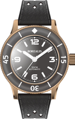 Pre-Order Full Deposit Borealis Sea Storm V2 Black Dial Version BB.A3 NH38 No Date BGW9 Lume CuSn8 Bronze