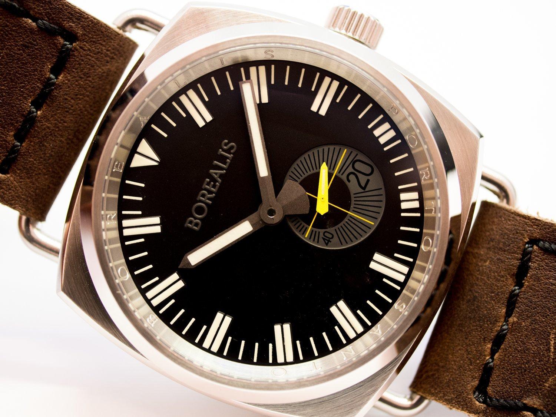 Borealis Porto Santo Automatic Diver Watch Black Dial C3 Lume Miyota 8218