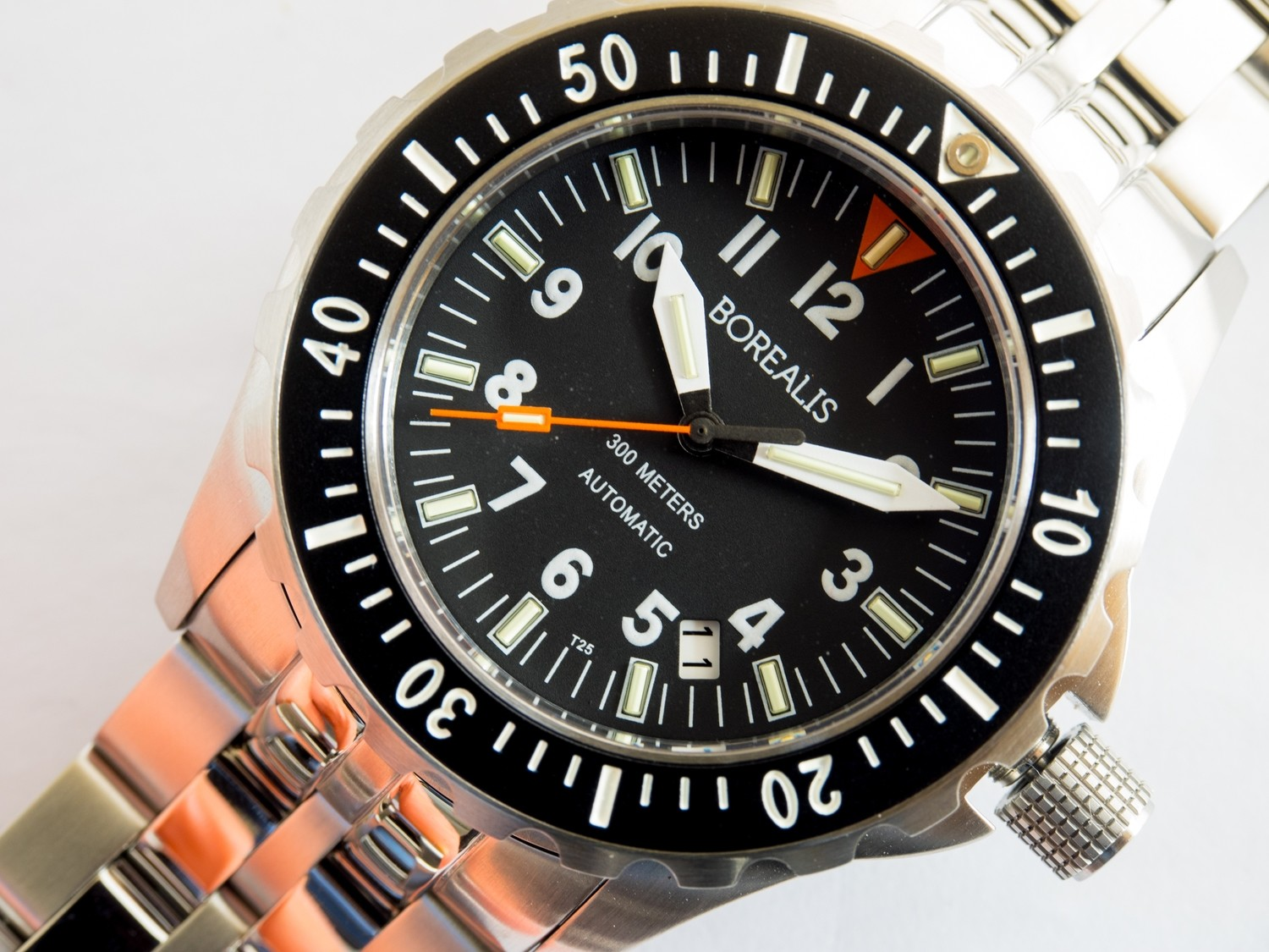 Borealis Scout Sniper 300m Automatic NH35 Movement Diver Watch with T25 Tritium MB-MicroTech Tubes