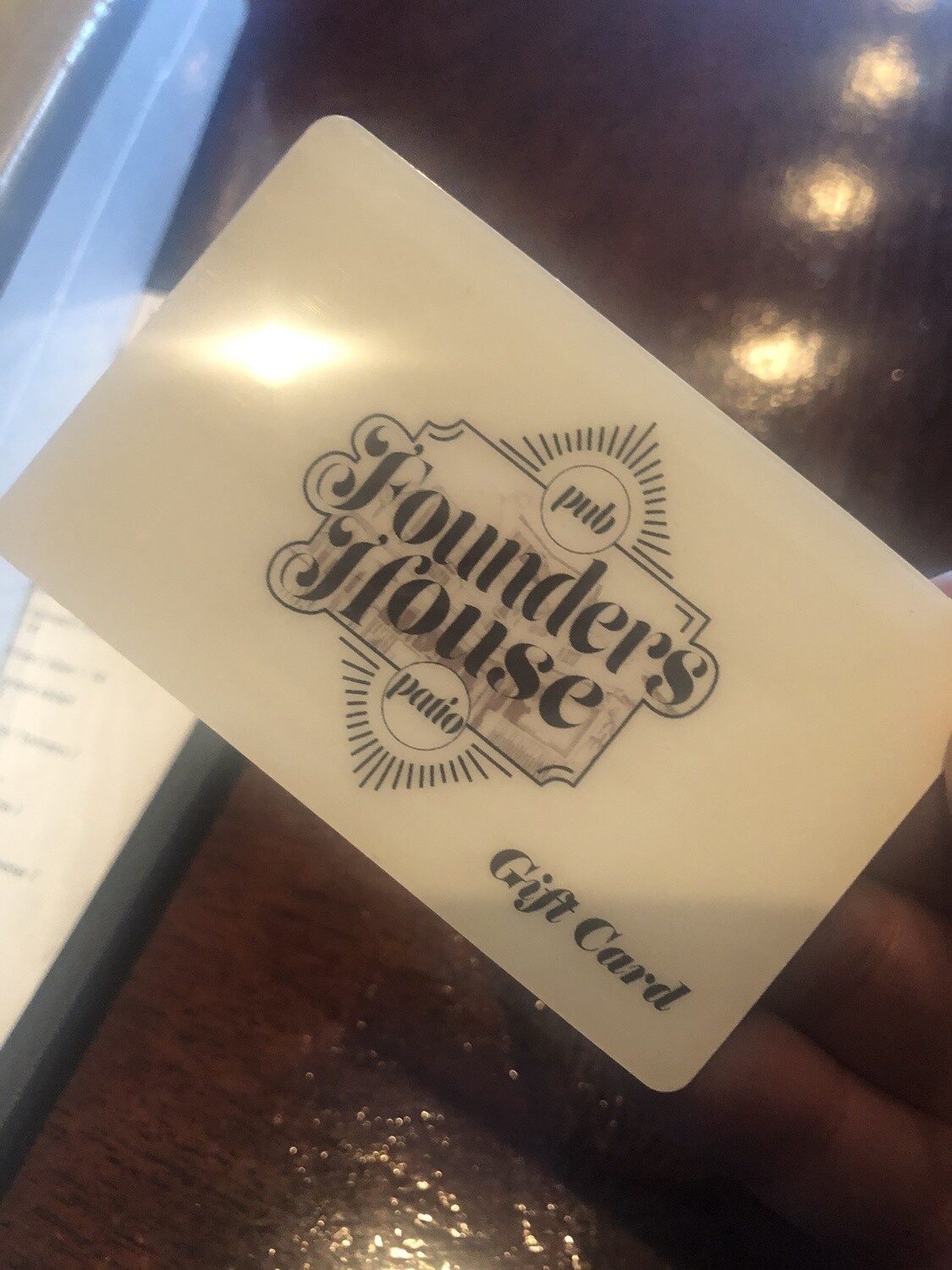 Founders House Gift Cards