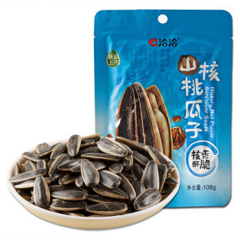 【RDG】Chacha Toasted Sunflower Seeds Chinese Pecan Flavor 恰恰 山核桃瓜子 250g