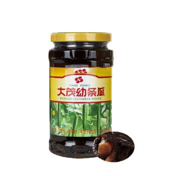 【RBG】大茂幼条瓜 385g 台湾风味酱菜 酱渍黄瓜罐头 幼嫩超脆