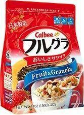 【RBG】日本calbee水果早餐麦片482G原味