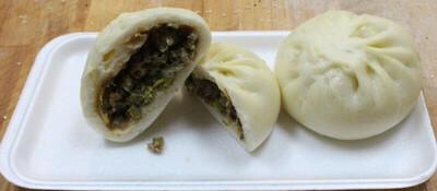 【鲁香村】Steam String Bean Pork Buns 四季豆肉包(6pcs/袋)(Closed Tuesday)