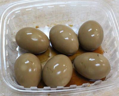 【鲁香村】Simmered Egg 6pc 卤鸡蛋(Closed Tuesday)