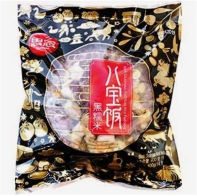 【RBF】SYNEAR Black Glut.&Nuts Rice Pudding 400g 思念黑糯米八宝饭