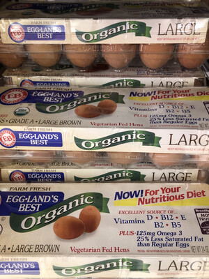 【RBG】 Organic Large Brown Eggs 有机鸡蛋