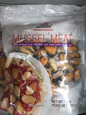 【RS】Mussel Meat 熟制青口肉 397g